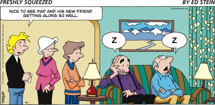 Freshly Squeezed for May 5, 2013 Comic Strip