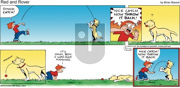 Red and Rover - Sunday June 21, 2020 Comic Strip