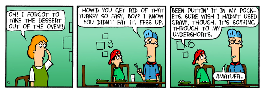 Just Say Uncle for Nov 29, 2013 Comic Strip