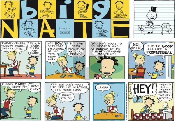Big Nate on Sunday July 8, 2018 Comic Strip