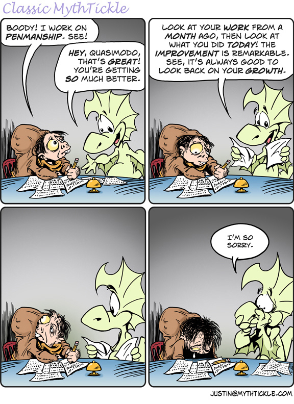 MythTickle by Justin Thompson for February 11, 2019