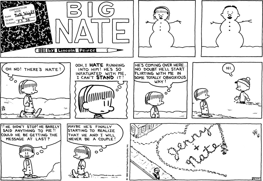 Big Nate: First Class Comic Strip for January 06, 2019