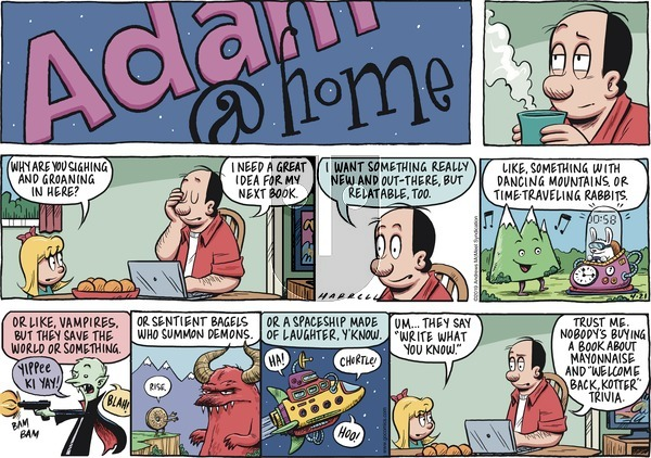 Adam@Home on Sunday April 21, 2019 Comic Strip