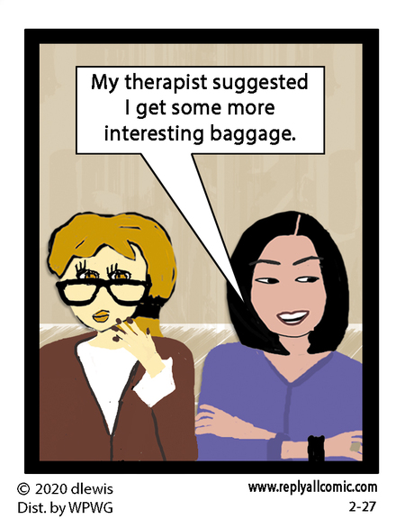 Reply All Lite Comic Strip for February 27, 2020