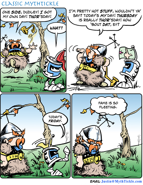 MythTickle for May 19, 2017 Comic Strip