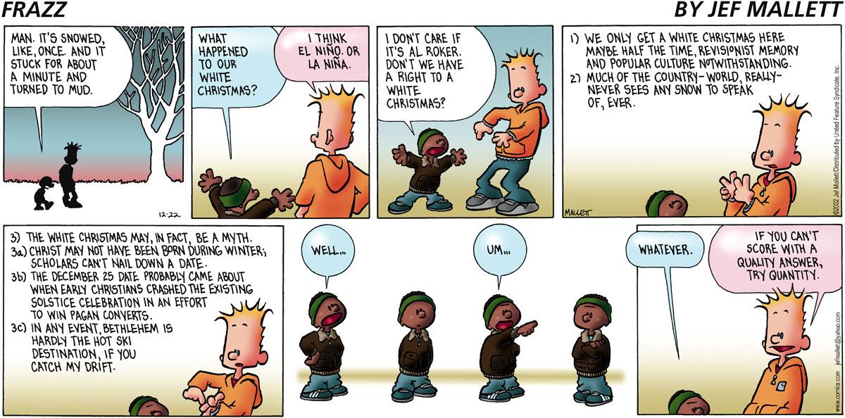 Frazz for Dec 22, 2002 Comic Strip