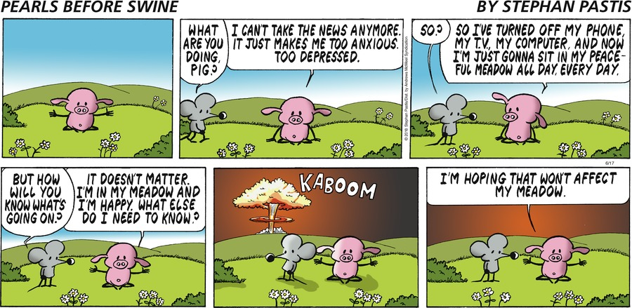 Pearls Before Swine Comic Strip for June 17, 2018