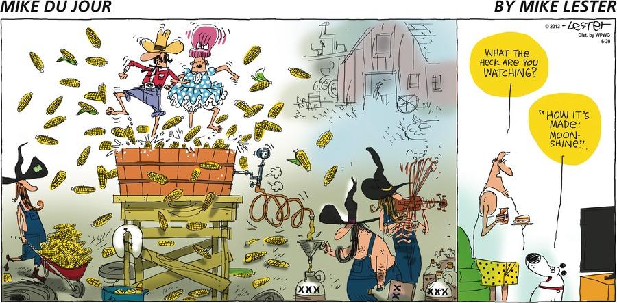 Mike du Jour Comic Strip for June 30, 2013
