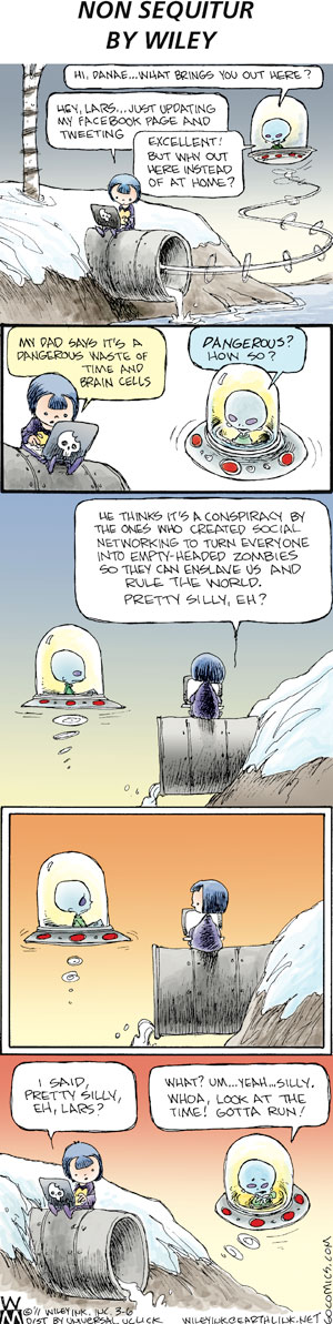 Non Sequitur Comic Strip for March 06, 2011