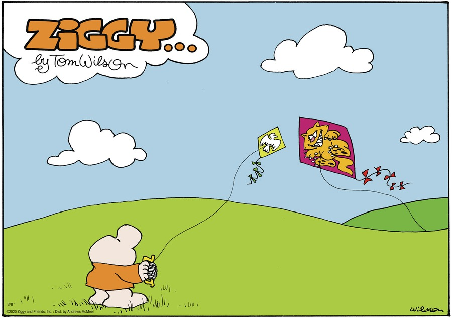 Ziggy Comic Strip for March 08, 2020