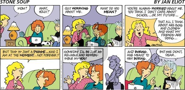 Stone Soup on Sunday October 9, 2011 Comic Strip