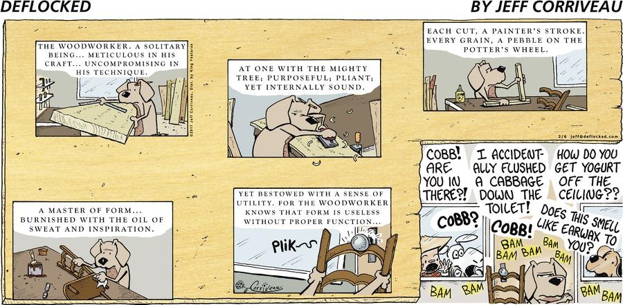 DeFlocked Comic Strip for February 06, 2011