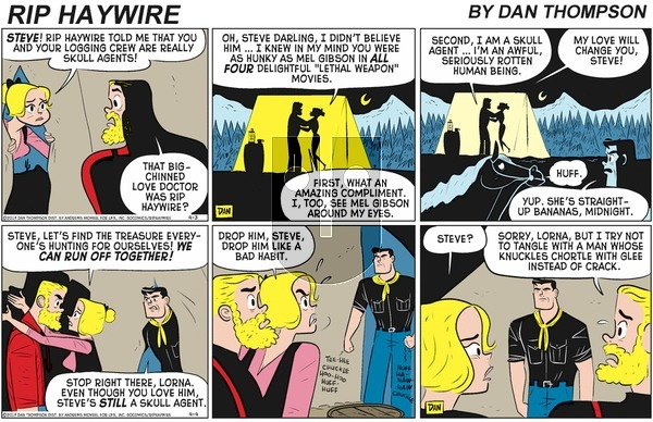Rip Haywire on Sunday June 21, 2020 Comic Strip