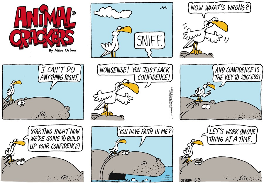 Animal Crackers by Mike Osbun for March 03, 2019