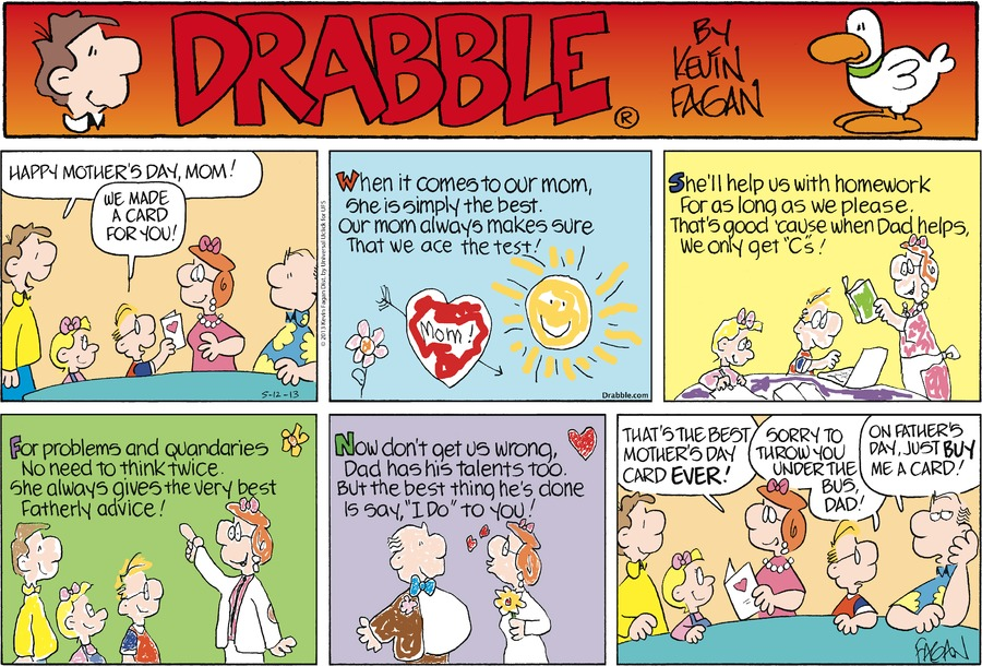 Drabble for May 12, 2013 Comic Strip