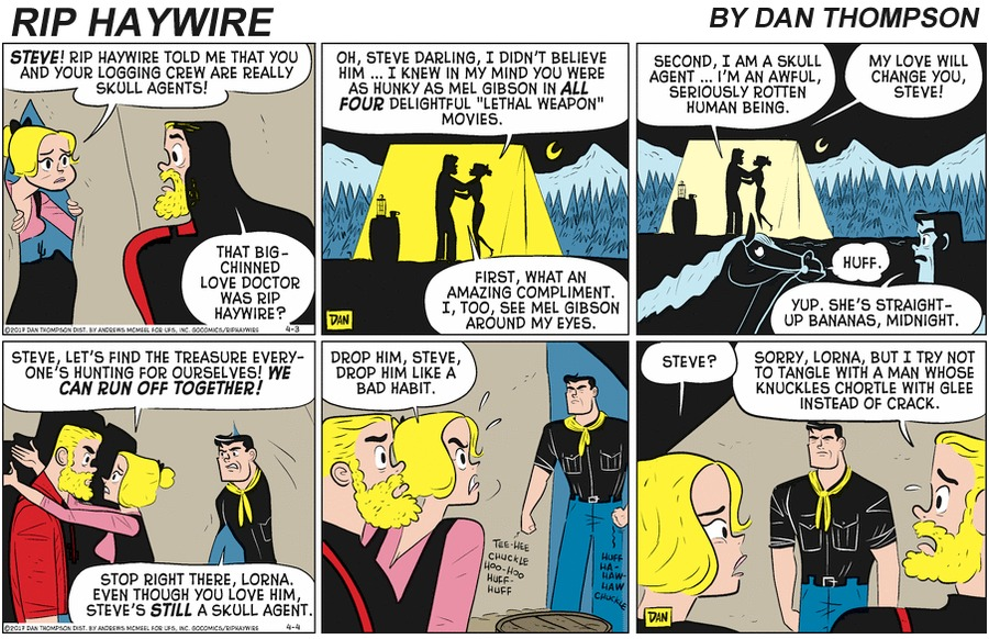 Rip Haywire Comic Strip for June 21, 2020
