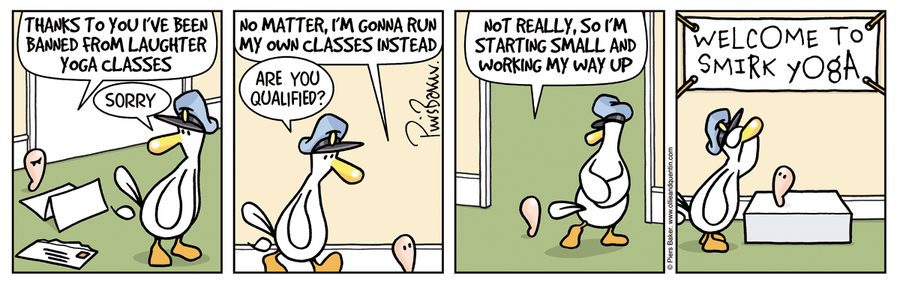 Ollie and Quentin Comic Strip for September 08, 2017
