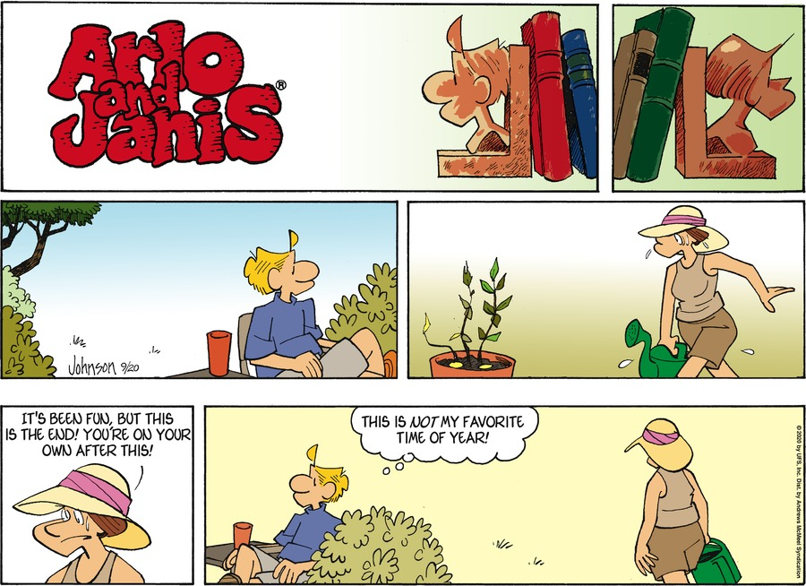 Arlo and Janis Comic Strip for September 20, 2020