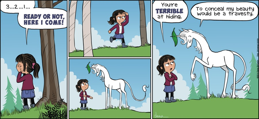 Phoebe and Her Unicorn for Apr 21, 2013 Comic Strip