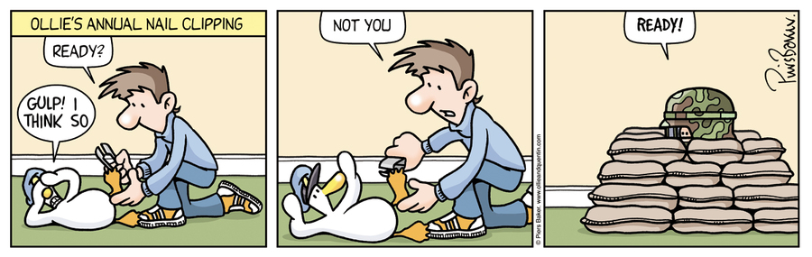 Ollie and Quentin for Oct 1, 2013 Comic Strip