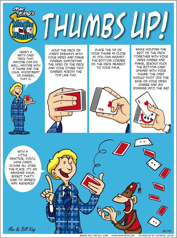 Magic in a Minute for Dec 15, 2013 Comic Strip