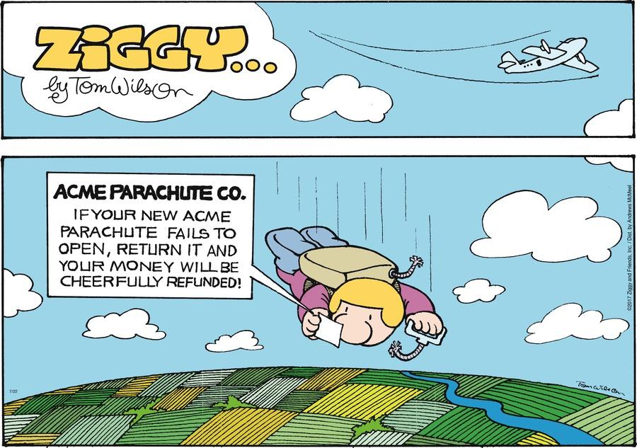 Ziggy for Jul 22, 2018 Comic Strip