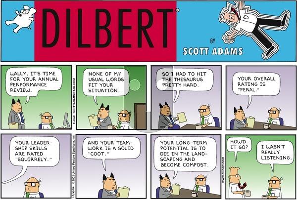 Dilbert - Sunday October 6, 2002 Comic Strip