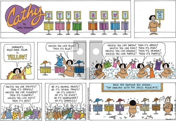 Cathy on Sunday May 17, 2020 Comic Strip