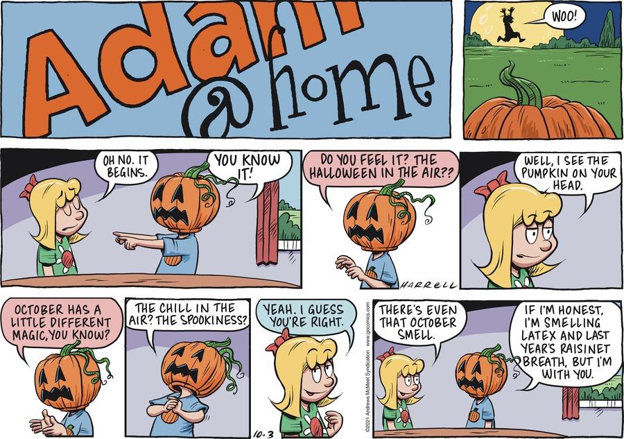 Adam@Home by Rob Harrell on Sun, 03 Oct 2021