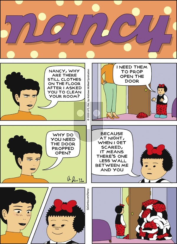 Nancy on Sunday July 5, 2020 Comic Strip