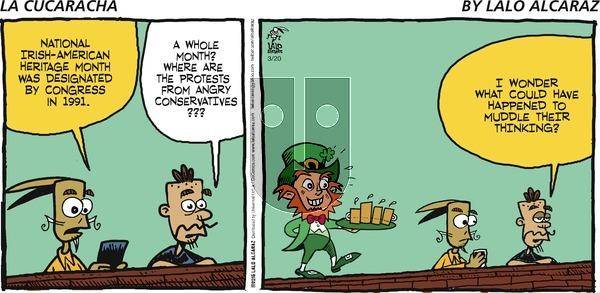 La Cucaracha on Sunday March 20, 2016 Comic Strip