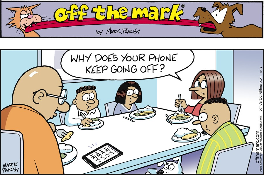 Off the Mark Comic Strip for November 17, 2019