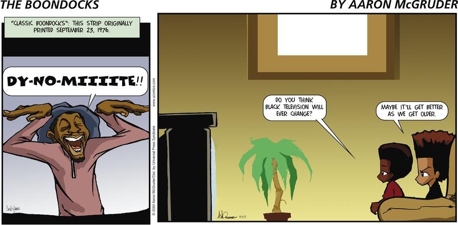 The Boondocks for Nov 7, 2004 Comic Strip