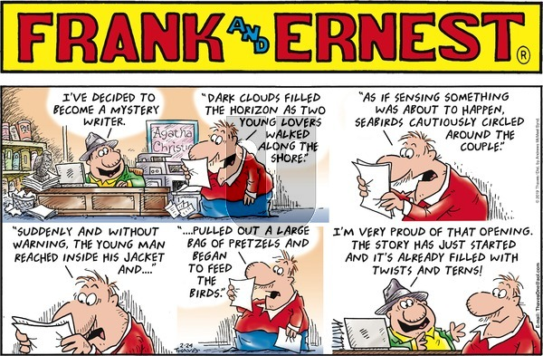 Frank and Ernest on Sunday February 24, 2019 Comic Strip