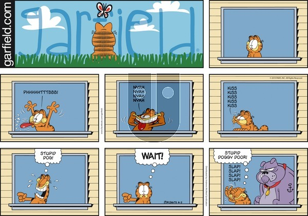 Garfield on Sunday June 2, 2019 Comic Strip