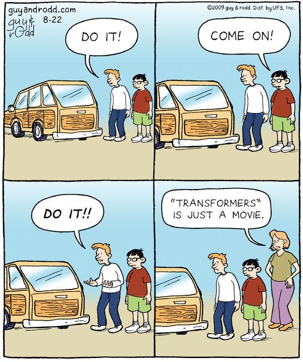 Brevity for Aug 22, 2009 Comic Strip