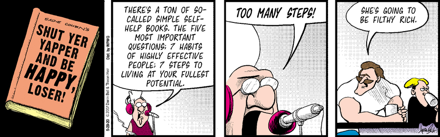 Rudy Park Comic Strip for May 29, 2020