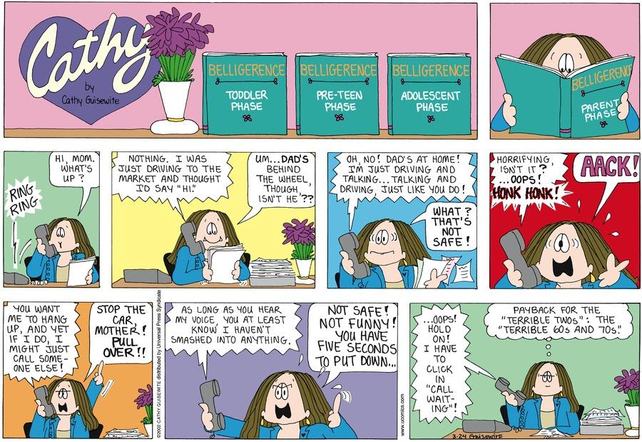 Cathy for Mar 24, 2002 Comic Strip