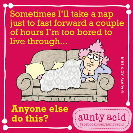 Aunty Acid by Ged Backland for August 24, 2019