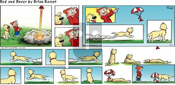Red and Rover on Sunday October 7, 2012 Comic Strip
