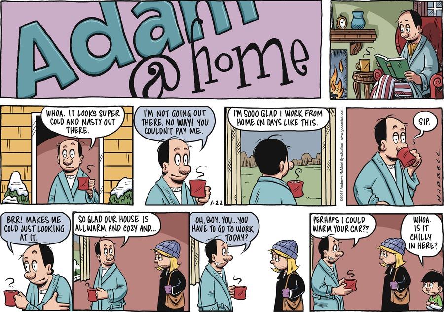 Adam@Home for Jan 22, 2017 Comic Strip