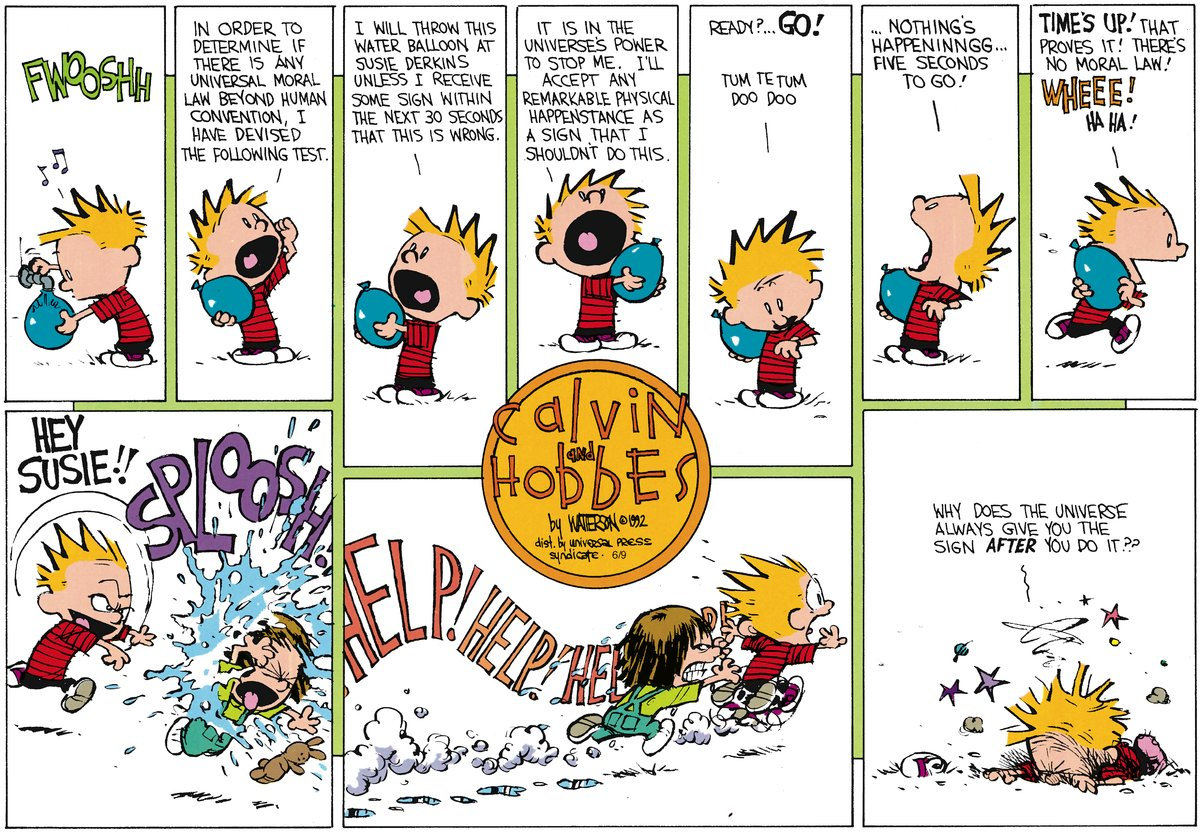 Calvin and Hobbes Comic Strip for July 29, 2012