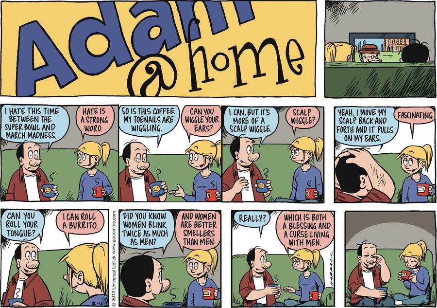 Adam@Home for Feb 10, 2013 Comic Strip