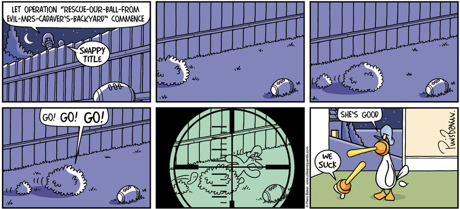 Ollie and Quentin Comic Strip for August 01, 2021