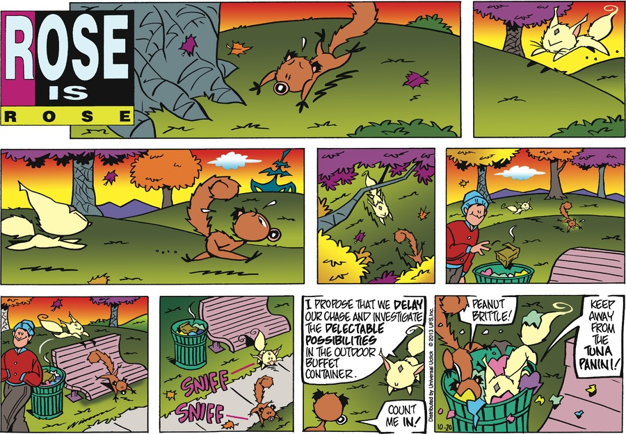Rose is Rose Comic Strip for October 20, 2013
