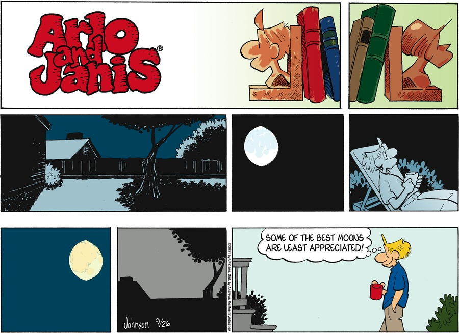 Arlo and Janis Comic Strip for September 26, 2021