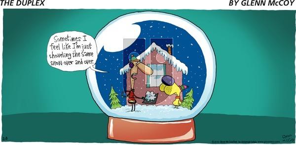 The Duplex on Sunday February 8, 2015 Comic Strip