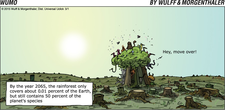 WuMo for Mar 1, 2015 Comic Strip