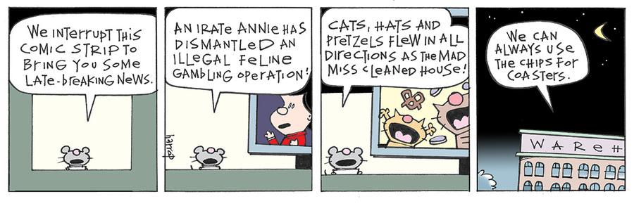 Ten Cats for Nov 23, 2013 Comic Strip