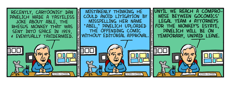 Just Say Uncle Comic Strip for January 16, 2015